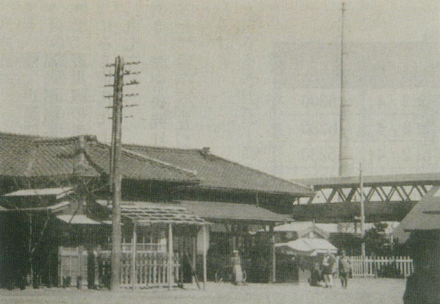 大正末期頃の原ノ町駅